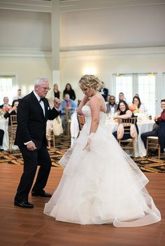 Albemarle Estate at Trump Winery Wedding | Father Daughter Dance