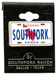 Online Gift Store, Online Gifts, Southfork Ranch, Texas, Plates, Star, Collection, Licence Plates, Plate