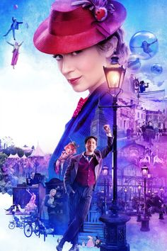 Free Watch Mary Poppins Returns : Summary Movies In Depression-era London, A Now-grown Jane And Michael Banks, Along With Michael's Three. Disney Pixar, Walt Disney, Disney Movies, Disney Live, Disney Stuff, Mary Poppins 2018, Watch Mary Poppins, Hd Movies, Movies Online