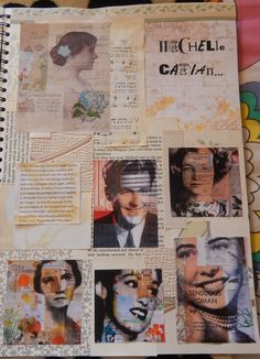 "Artist research page in style of ""Michelle Caplan"". A Level Art Sketchbook, Sketchbook Layout, Textiles Sketchbook, Arte Sketchbook, Sketchbook Inspiration, Sketchbook Ideas, Roy Lichtenstein, Artist Research Page, Kunst Portfolio"