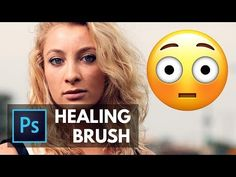 A Quick Introduction to the Healing Brush in Photoshop Photoshop Tutorials Youtube, Photoshop Tips, Photoshop Effects, Lightroom, Photoshop Illustrator, Illustrator Tutorials, Press The Red Button, Photoshop Course, Photo Software
