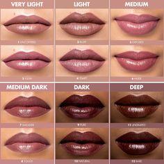 Shop Make Up For Ever's Artist Nude Creme Liquid Lipstick at Sephora. This innovative cream liquid lipstick in 12 skin-flattering nude shades features a satin finish. Lipstick For Dark Skin, Lipstick Shades, Lipstick Colors, Makeup Lipstick, Liquid Lipstick, Lip Colors, Fall Lipstick, Pink Brown Lipstick, Revlon Lipstick