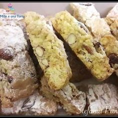 Italian Cookie Recipes, Italian Cookies, Italian Desserts, Biscotti Cookies, Biscotti Recipe, Italian Almond Biscuits, Pasta, Cookie Desserts, Coffee Cake