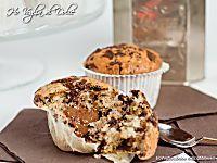 Muffin con gocce di cioccolato dal cuore morbido, ricetta | Ho Voglia di Dolce