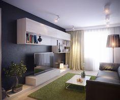 маленькая гостиная в стиле модерн - Поиск в Google