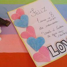 Boa tarde amores :) Hoje vim com essa ideia simples de cartão :) . . . . . #inlove #criatividade #valentine #mylove #biasanttosz #mimo #criar #arteemfoco #love #romantic #romanticos #namoradacriativa #namorados #heart  #amor #corações #card #surpresa #surprise #scrap #scrapbook #supernamorada #EuQueFiz #diy #scraping #cartão #casal #blognamoradacriativa #surpresacriativa