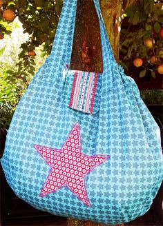 AllesShopper, große Tasche, Schnittmuster, Anleitung farbenmix Bag Sewing, Sewing Projects, Projects To Try, Kids Bags, Needle And Thread, Fabric Scraps, Diy Crafts, Couture, Purses