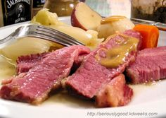 BEST corned beef and cabbage~ will be making this weekend!