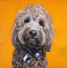 View examples of custom dog paintings by dog artist David Kennett. Each oil painting is handmade from your photo to capture your dog's personality. Custom Dog Portraits, Pet Portraits, Portrait Pictures, Portrait Ideas, Painting Portraits, Oil Painting Basics, Oil Painting Abstract, Painting Tips, Paint Your Pet