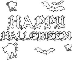 100 Days of Holidays: Happy Haunting! (via Parents.com)  Free Printable coloring pages