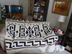 The Dude's Sweater Blanket - CROCHET - The Big Lebowski craft
