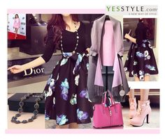 """""""yesstyle-2"""" by nihada-niky ❤ liked on Polyvore featuring Queen Bee, Shoes Galore, lilygirl, women's clothing, women's fashion, women, female, woman, misses and juniors"""