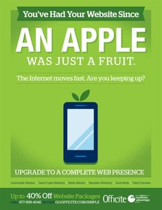 You've had your website since an Apple was just a fruit - Infinity Dental Web Blog