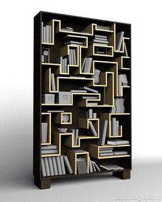 50 ideas de espacios creativos para guardar libros | Puerto Pixel | Recursos de Diseño | Página 4