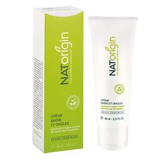 NATorigin Hand & Nail Cream. A natural solution to sore, dry or chapped hands that is ideal for; working hands, dry, sensitive skin and dermatitis sufferers. Especially recommended for hands weakened by weather or repeated washings. It is rapidly absorbed into the skin, brings absolute comfort with a pleasant sensation of extreme softness, non-greasy touch and silky finish. Working Hands, Cream Nails, Natural Solutions, Nail Care, Pedicure, Sensitive Skin, Creme, Bottle, Weather