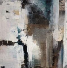 Rita Mester Collage 100 cm  x 100 cm