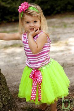 apple green skirt