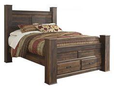 Quinden Queen Size Bed