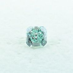 This is a beautiful .30 carat, GIA certified Natural Fancy Intense Bluish Green, Radiant Brilliant shape and cut Diamond with an SI1 clarity. A beautiful Natural Fancy Intense Bluish Green that will look stunning when set. This loose diamond has an amazing color.  Let one of our Diamond Specialists help you.