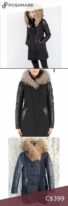 I just added this listing on Poshmark: RUDSAK Black ANOUK Fur PARKA - SMALL. #shopmycloset #poshmark #fashion #shopping #style #forsale #RUDSAK #Jackets & Blazers Winter Coats Women, Winter Jackets, Low Waist Jeans, Running Jacket, Parka Coat, Khaki Green, Knit Jacket, Rib Knit, Double Breasted