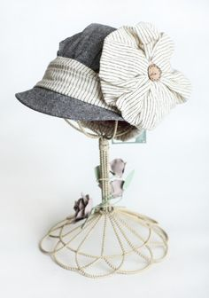 I'm not sure I even want to wear the hat so much as I want this entire display somewhere in my house.