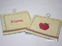 Topflappen -ApfelKüche-