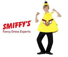 #Smiffy's yellow angry bird kids #fancy dress #character custome ,  View more on the LINK: 	http://www.zeppy.io/product/gb/2/391429409168/