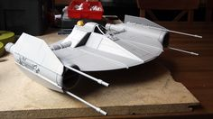 1:18 CONCEPT Clone Fighter by Lasse Henning from the Warren Fu Design