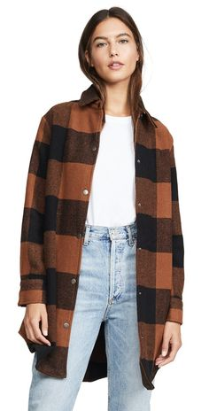 BB Dakota Eldridge Coat PRESALE – Wilde and Sparrow Style Blogger, Ootd, Work Jackets, Street Style, Big Sur, China Fashion, Shirt Jacket, High Tops, Shopping