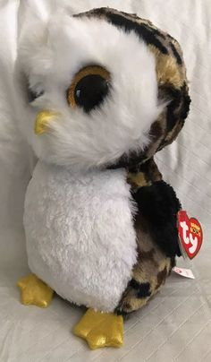"2cd48123f7d TY Beanie Boos - OWLIVER the Camo Owl Amber Glitter Eyes Medium 9"" MWMT Soft  · Ty Beanie BoosToy SalePlush AnimalsStuffed ..."
