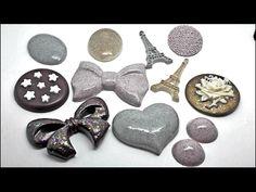 Acquisti: Stampi per resina, colori, smalti.... - YouTube