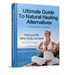 Our ebook cover! Ultimate Guide to Natural Healing Alternatives #naturalhealing #naturalhealingalternatives #bestbookever