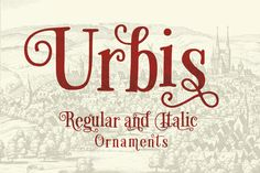 Urbis Pro by Eurotypo on Creative Market