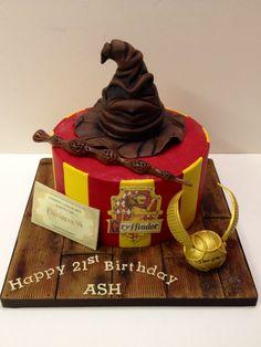 Harry Potter birthday cake!  Boys/girls/men/women!