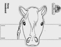 Atividades prontas para imprimir: Desenhos e moldes de animais e personagens para contar histórias, usar como fantoches ou chapéus, moldes de eva etc