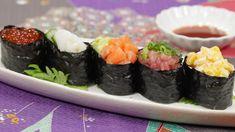 Gunkanmaki (Gunkan Sushi Recipe) 軍艦巻き 作り方 レシピ https://www.youtube.com/user/cookingwithdog