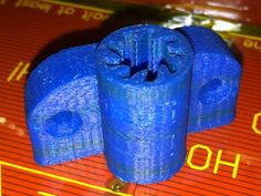 Parametric combined bushing and bearing for Prusa i3 and similar (includes lm8uu, 5/16, and parametric)