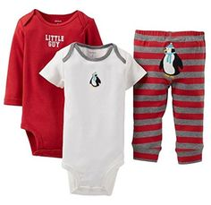 """Carter's 3 Piece """"Take Me Away"""" Set (Baby) - Little Guy Carter's is the leading brand of children's clothing, gifts and accessories in America, selling mor"""