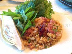 Nam Khao Crispy Rice Salad