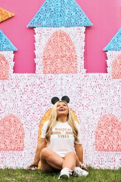 TSL - Designer Magical Vibes (White Sueded) - Short Sleeve / Crew Disney Tees, Walt Disney, Disney Magic, Disney Mickey, Disney Style, Love Her, Tee Shirts, Spun Cotton, Sleeves