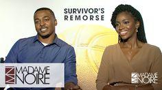 Teyonah Parris & RonReaco Lee Dish On Awkward Sex Scene Moments In Survi. Survivor's Remorse, Awkward, Dish, Scene, In This Moment, Movies, Movie Posters, Film Poster, Films