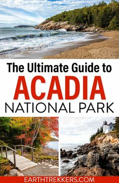 The ultimate guide to Acadia National Park. Best things to do in Acadia, best hikes, best views, how to plan your time, where to stay, and important information for planning your trip. #acadia #nationalpark