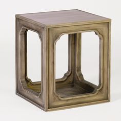 The Jackson Side Table is made from recycled pine with a blonde finish and features a marble top. Bunch these reclaimed wood tables to create a great look!