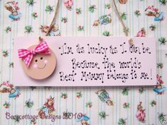 Baby Pink Worlds Best Mummy Plaque Mothers Day Gift Mothers Day Crafts, Mother Day Gifts, Personalised Childrens Gifts, Playroom Signs, Bedroom Door Signs, Wooden Bedroom, Door Plaques, Crafty Craft, Handmade Wooden