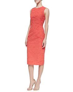Plisse Georgette Dress by Michael Kors at Neiman Marcus.