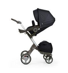 Stokke Xplory stroller in Black