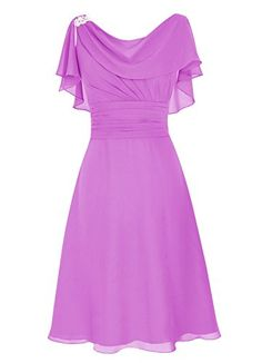 Dresstells® Scoop Chiffon Backless Prom Dress Evening…