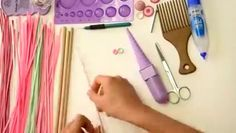 how to make Quilling Art design at home | DN Fashion Flair