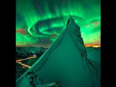 Envie de vous mettre au vert ? Direction la Norvège pour observer de sublimes aurores boréales. Celle-ci a été photographiée par Max Rive près du fjord Austnesfjorden des îles Lofoten. Photo : Max Rive/Goddard Images/NASA