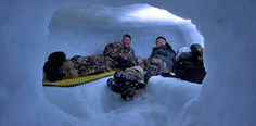 Winter Survival: How to Build a Proper Snow Cave